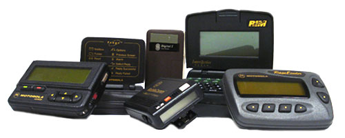 group of pagers