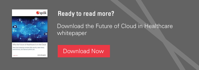 Ready to ready more? Download the Future of Cloud in Healthcare whitepaper