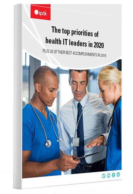 The top priorities of health IT leaders in 2020 ebook