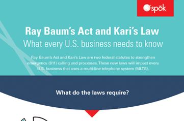 Ray Baums Act and Kari's Law What every U.S. business needs to know at Spok
